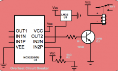 Supercooling or Overheating Circuit Breaking Protection by Temperature Sensor