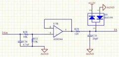 Multi-channel PT100-III type signal conversion module