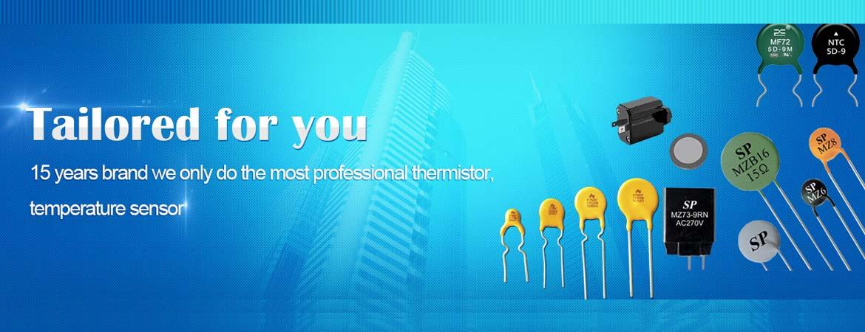 China NTC, PTC thermistor manufacturer