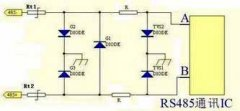RS485 uses PTC fuse lightning protection
