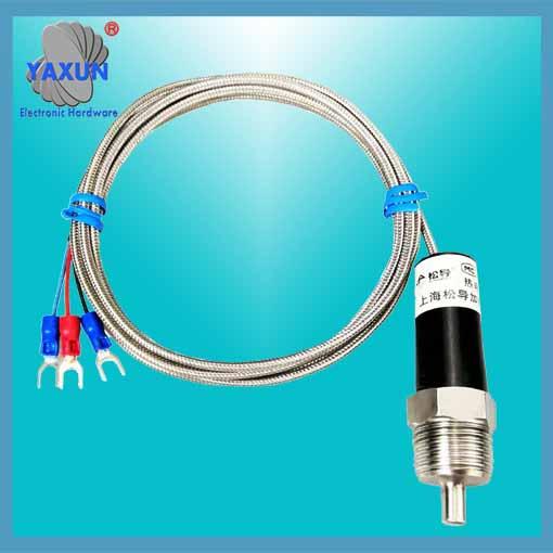 Production and application of platinum temperature sensor